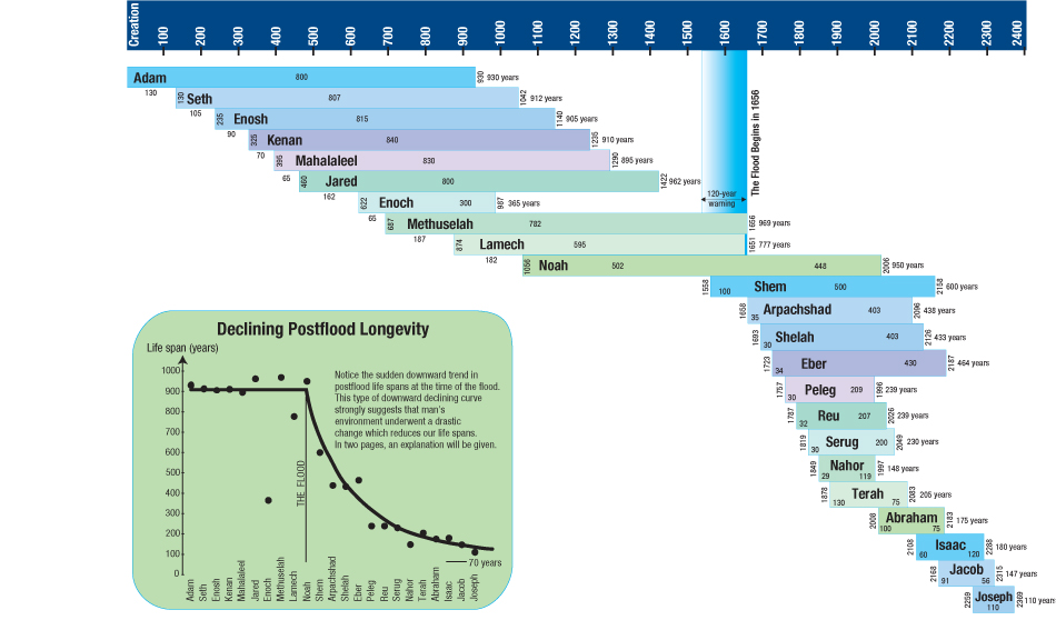 How did people live so long?